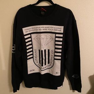 Diamond Supply Co. black crewneck